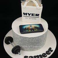 PUBG Binary Code Birthday Cake by Cakes by Vivienne