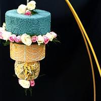 Hanging cake