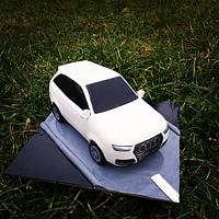 3D car cake Audi Q7