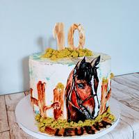 Horse by alenascakes