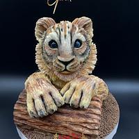 Lion cub - Cake by Cake Garden