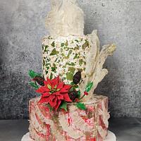 Wedding cake by Katya