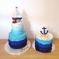 Sailor Teddy cake