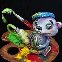 Artist Bear - Teddy Bear Challenge by Torty Zeiko