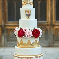 Esterházy nobility Neo-Gotick Wedding Cake