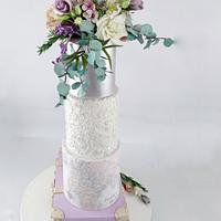 Travel Wedding Cake by Calli Creations