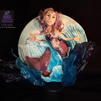 Mermaid- Ametyst Coralie by Cristina Arévalo- The Art Cake Experience