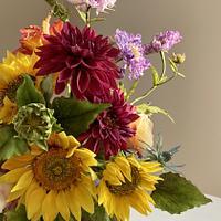 Summer bouquet  by  Alena Ujshag