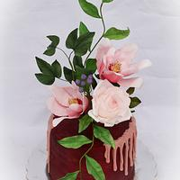 Chocolate and flowers for the young lady's birthday