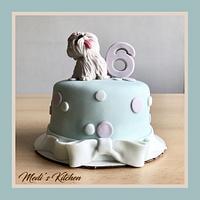 Shih Tzu Cake