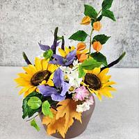 My sugar flowers by Katya