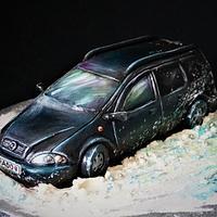Opel - ganache cake