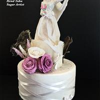 Couture Cakers International Collaboration 2020 Edition- Islamic Bride Cake