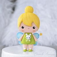 Cute Fairy Cake Topper by Crumb Avenue