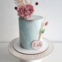 Cake for Lili - Cake by Silvia Caballero