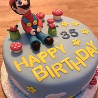 Super Mario 🥳 by Nonahomemadecakes