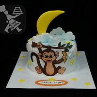 Cake with Monkey