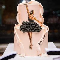 Ballerina cake from Lolo delicious cake - Cake by Lolodeliciouscake227