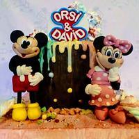 Mickey and Minnie by Édesvarázs