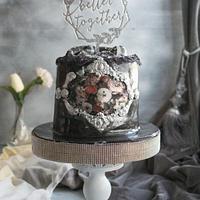 Engagement cake  by Rana Eid
