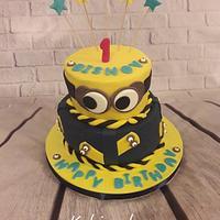 Minnions cake