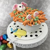 Easter Bunny Carrot Bath