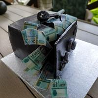 Safe Money cake