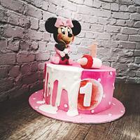 Gateau Minnie Mouse  by Gateaux DéMila