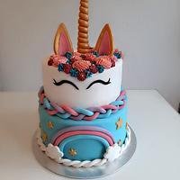 Unicorn cake  by Azra Cakes
