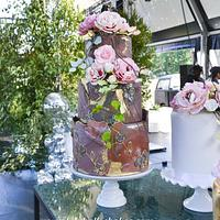 1 wedding 5 cakes! by Lulubelle's Bakes