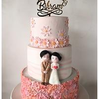 Customised Wedding Cake