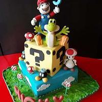 Mario Bross cake!