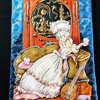 Marie Antoinette - The Royal - An International Cake Challenge