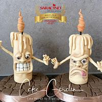 Crazy candles