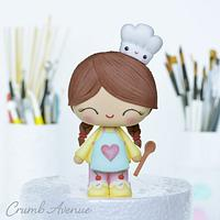 Cute Little Baker