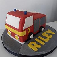Fire Engine for boy's 3rd birthday