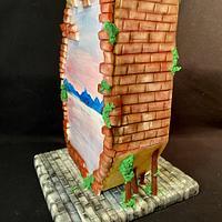The Door- Hanpainted cake  by Cristina Arévalo- The Art Cake Experience