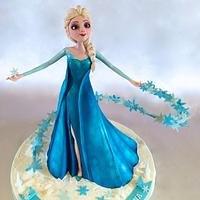 3D Elsa Cake