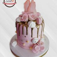 Torta con Drip cake
