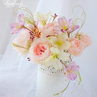 Wafer Paper Flowers Bouquet