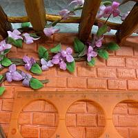 Garden miniature cake by alek0