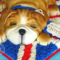 Sweet puppy cake NHS