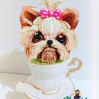 3D cake tacita de té 🍵