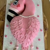 Flamingo  by milkmade