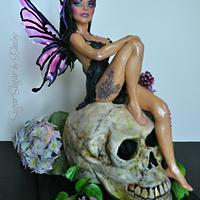 Goth Fairy - Gothic Sugar Art Collaboration 2020