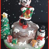 Happy christmas Minny cake