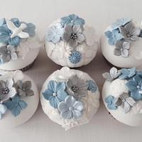 Sympathy Dove Cupcakes
