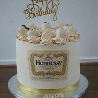 Hennessy cake by Cake Rotterdam