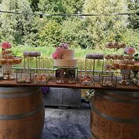 Wedding sweettable