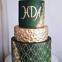 BD cake for a man